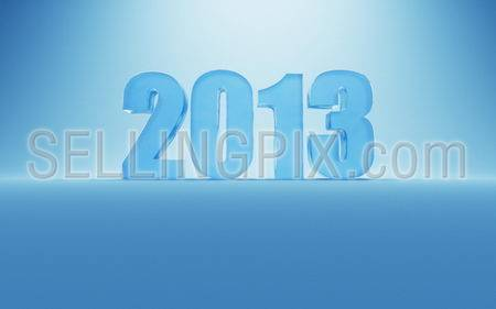 New Year 2013 ice numbers