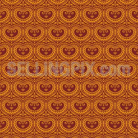 Vintage background. Floral seamless pattern. Wallpaper. High detail Vector.