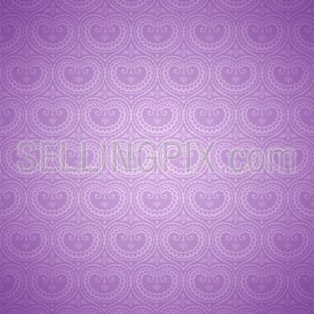 Vintage background. Retro pattern seamless texture Wallpaper.