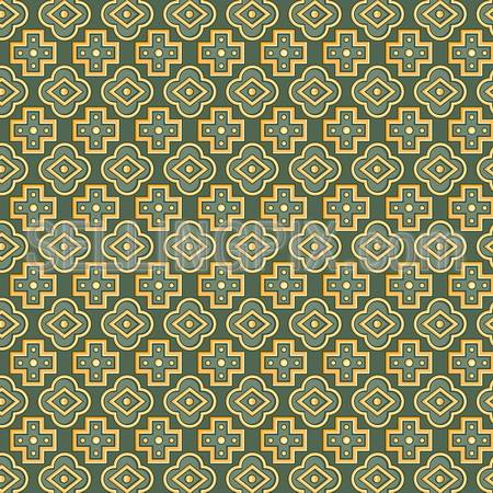 Seamless pattern retro vintage abstract. Vector background.
