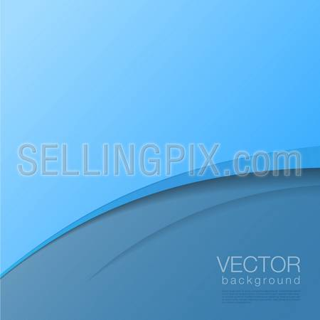 Background Abstract Vector. Creative corporate identity design template. – stock vector