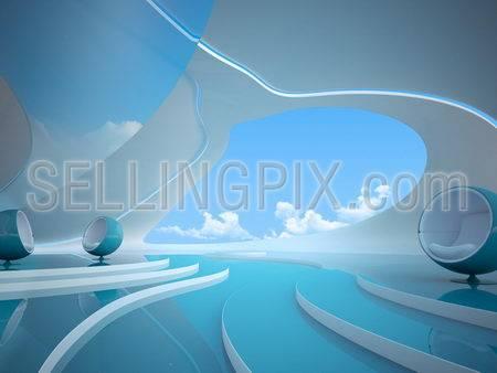 Future style interior Series