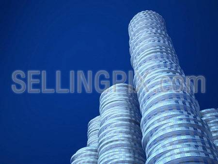 Heap of coins (3d remarkable business concepts and metaphors series)