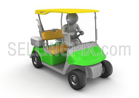 Golfcar driver – Sports collection