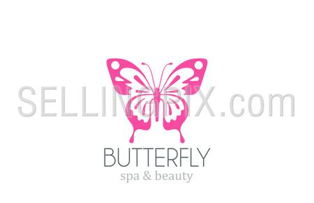 Butterfly Logo vector design template. 
