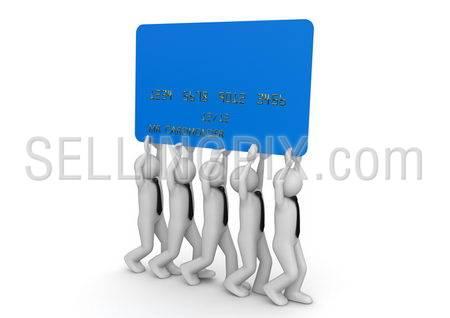Biiiiig credit card – Finance collection