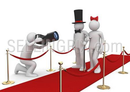 Celebrities on red carpet – Lifestyle collection