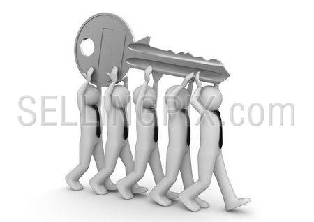 Key to success / Key to solution